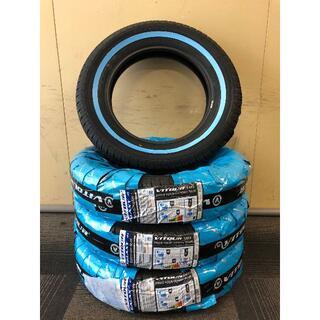 155R15 ホワイトリボン タイヤ 4本セット 送料無料!15インチ(タイヤ)
