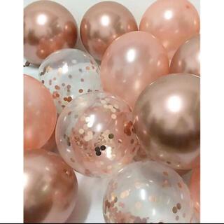 【新品未開封!】ピンクシルバー系 バルーン詰合せ ホログラム入り 透明 15個②(ウェルカムボード)