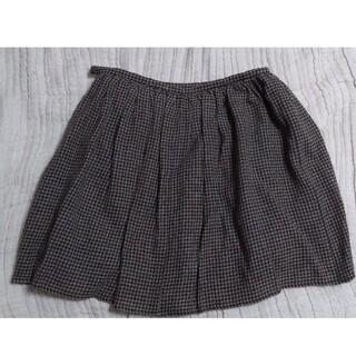FRAMeWORK - 千鳥格子 スカート 美品 日本製 焦げ茶 FRAMeWORK フレームワーク