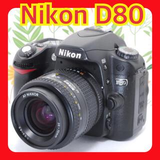 Nikon - NikonのTHE一眼レフ✨初心者おすすめ✨ニコン D80