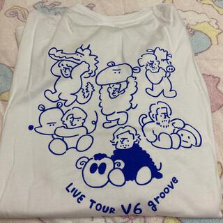 ブイシックス(V6)のV6 groove ツアーグッズ Tシャツ(長袖)(アイドルグッズ)