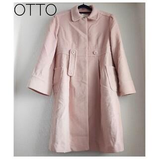 オト(OTO)の【Otto】オットー ピンクコート(ロングコート)