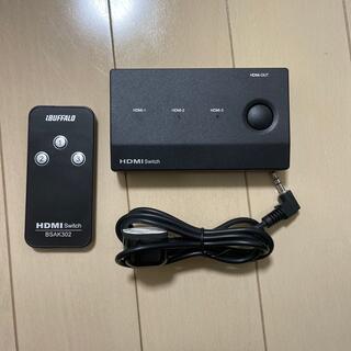 バッファロー(Buffalo)のバッファロー HDMI切替機 BSAK302(映像用ケーブル)