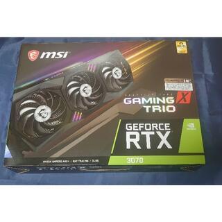 非LHR) MSI GeForce RTX 3070 GAMING X TRIO