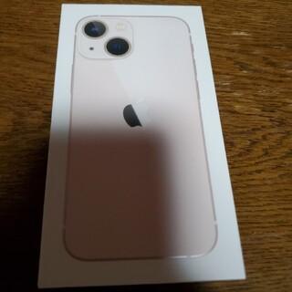 アイフォーン(iPhone)のiphone 13 mini 新色ピンク 新品未開封 SIMフリー(スマートフォン本体)