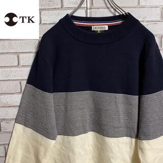 TAKEO KIKUCHI - TK タケオキクチ セーター ニット ビッグシルエット ゆるだぼ