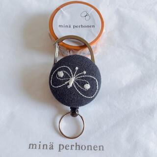 ミナペルホネン(mina perhonen)の♦️ハンドメイド♦️ミナペルホネン生地♦️リールキーホルダー(その他)