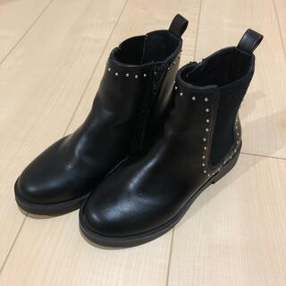 ザラ(ZARA)のzara キッズブーツ 19.5cm(ブーツ)