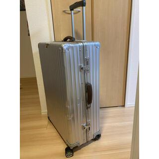 リモワ(RIMOWA)のリモワrimowa 希少品限定クラシックスーツケース84L ルフトハンザジャンク(トラベルバッグ/スーツケース)