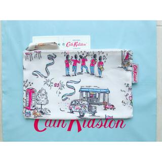 キャスキッドソン(Cath Kidston)の【新品未使用】キャスキッドソン 25thアニバーサリー バースデーパーティ(ポーチ)