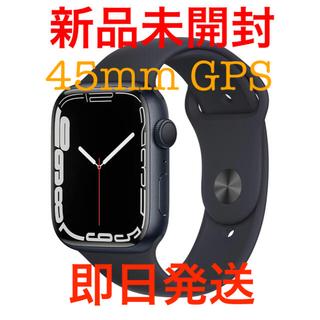 Apple Watch - 新品Apple Watch Series7 45mm GPS ミッドナイトアルミ