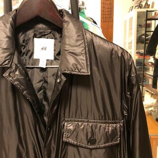 H&M - 【価格相談可能‼︎】中綿入り シャツジャケット