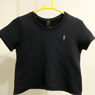 クロムハーツ(Chrome Hearts)のクロムハーツ ショート丈 半袖 スウェット カットソー S レディース(Tシャツ(半袖/袖なし))