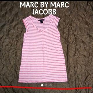MARC BY MARC JACOBS - MARC BY MARC JACOBS ボーダー ノースリーブカットソー