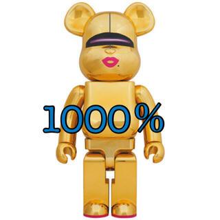 MEDICOM TOY - BE@RBRICK SORAYAMA × 2G GOLD Ver. 1000%