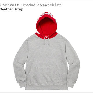 Supreme - XXL Supreme Contrast Hooded パーカー