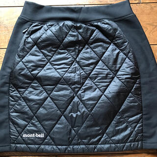 mont bell - mont-bell サーマラップスカート 黒