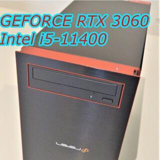 RTX3060 / i5 11400 ゲーミングPC