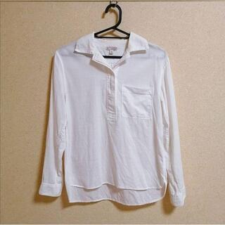 ギャップ(GAP)のギャップ GAP ホワイト シャツ(シャツ/ブラウス(長袖/七分))