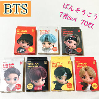 防弾少年団(BTS) - ✴BTS タイニータン 絆創膏 10枚入り×7箱✴正規品
