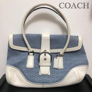 COACH - COACH コーチ ハンドバッグ ミニシグニチャー 型番6821