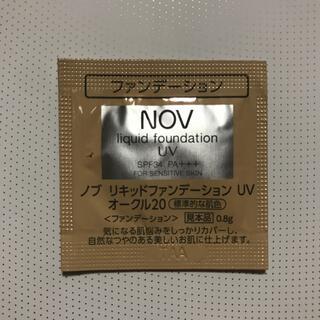 ノブ(NOV)のNOV リキッドファンデーション(ファンデーション)