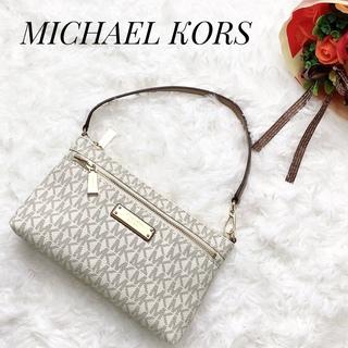 Michael Kors - MICHAEL KORS  ショルダーバッグ リストレット バニラ 17600円