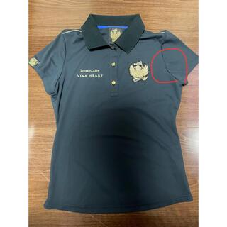 ビバハート(VIVA HEART)の【VIVA HEART】ネイビー×ゴールドポイントシャツ(ウエア)