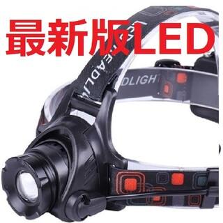 超強力 45時間点灯 CREE以上 LED ヘッドライト ヘルメットR56793(ライト/ランタン)