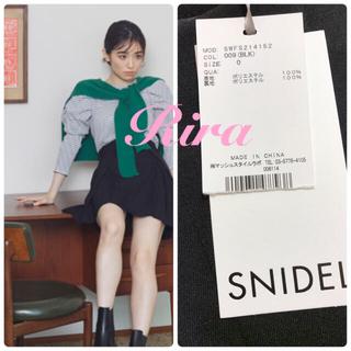 snidel - 完売🌷新作新品🍀スナイデル チェックミニベルティッドスカート
