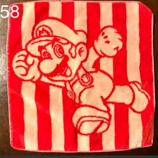 任天堂 - 58 スーパーマリオ ハンドタオル タオルハンカチ
