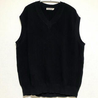 COOTIE - COOTIE Seed Stitch Knit Vest ニットベスト ブラック