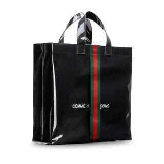 Gucci - コムデギャルソン×グッチ 100周年記念PVCトートバッグ