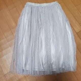 ダズリン(dazzlin)のdazzlin チュールスカート sizeフリー(ひざ丈スカート)