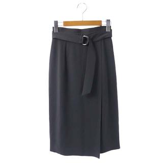 ジャスグリッティー(JUSGLITTY)のジャスグリッティー 20SS ウォッシャブル タイトスカート ロング 0 グレー(ロングスカート)