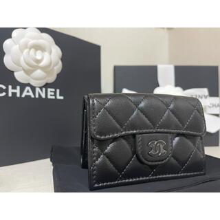CHANEL - 【レア金具色】CHANEL マトラッセ ココマーク 3つ折り財布
