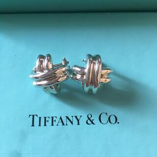 Tiffany & Co. - ティファニー シグネチャー クロス イヤリング