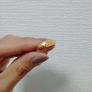 K18ハワイアンジュエリー 10号〜12号目安(リング(指輪))