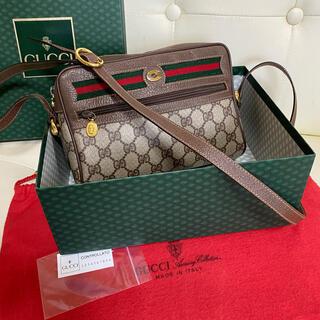 Gucci - 極 美品 付属品完備 GUCCI オールド グッチ シェリーライン バッグ 綺麗