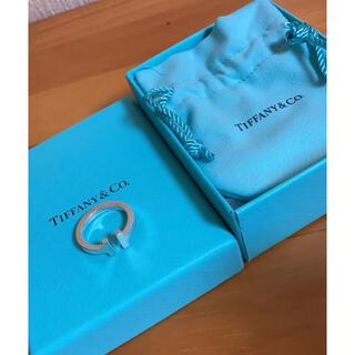 Tiffany & Co. - ティファニー Tスクエアリング シルバー 美品
