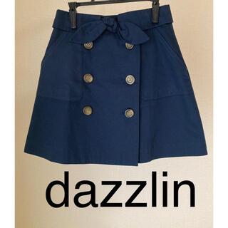 ダズリン(dazzlin)のミニスカート ウエスト平置き31センチ程度(ミニスカート)