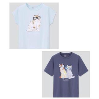 PAUL & JOE - ユニクロ × ポール&ジョー   Tシャツ 2枚セット