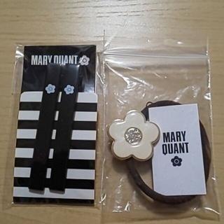 MARY QUANT - 新品 マリークヮント ヘアゴム&ヘアクリップ
