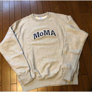 Champion - Champion クルーネックスウェットシャツ MoMA Edition L