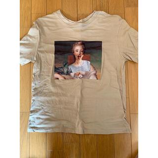 エイチアンドエム(H&M)のアート風プリントTシャツ(Tシャツ(半袖/袖なし))