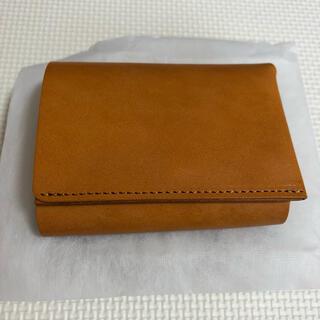 FABRIK TRI-FOLD WALLET 三つ折り財布 キャメル