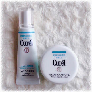 キュレル(Curel)のCurel キュレル アイゾーン美容液 モイストリペア アイクリーム セット(アイケア/アイクリーム)