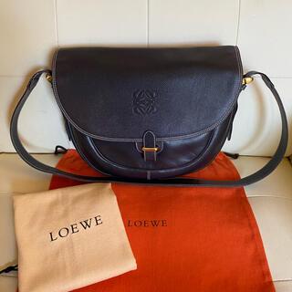 LOEWE - 極 美品 付属品あり LOEWE オールド ロエベ アナグラム ショルダーバッグ