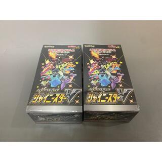 ポケカ シャイニースターv シュリンク付き 2box(Box/デッキ/パック)