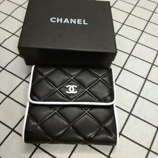 CHANEL - 超美品❥三つ折り財布❥小銭入れ カード入れ chanel